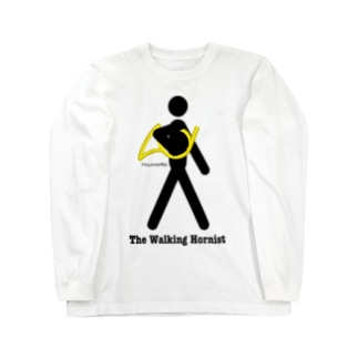 The Walking Hornist w/ Logo Long sleeve T-shirts