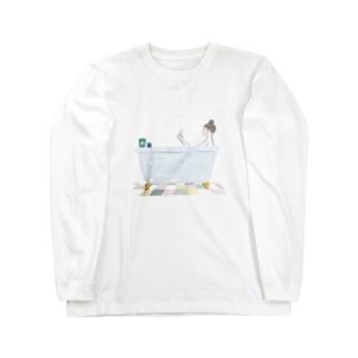 バスタイム Long sleeve T-shirts