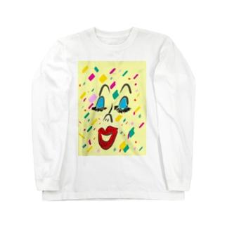 confetti Long sleeve T-shirts