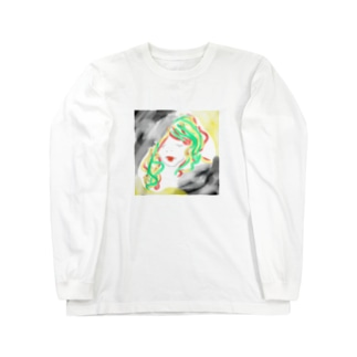 ぱっ Long sleeve T-shirts
