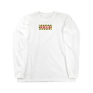架線注意 Long sleeve T-shirts