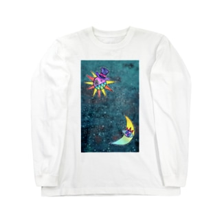 冬の星空 Long sleeve T-shirts