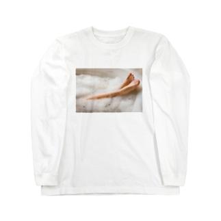 美脚 Long sleeve T-shirts