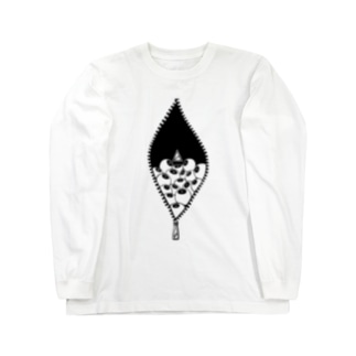 mie+anica ver.02 Long sleeve T-shirts