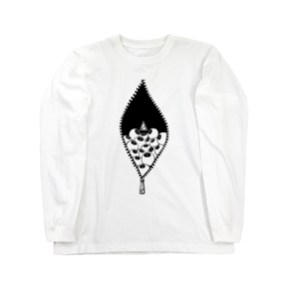 anica storeのmie+anica ver.02 Long sleeve T-shirts