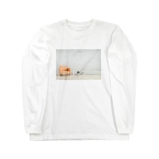 リビング 家 住まい ソファー Long sleeve T-shirts