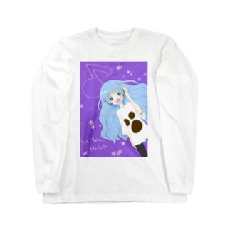 音楽が大好きな女の子 Long sleeve T-shirts