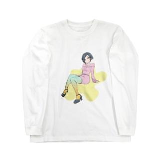 カラータイツ Long sleeve T-shirts