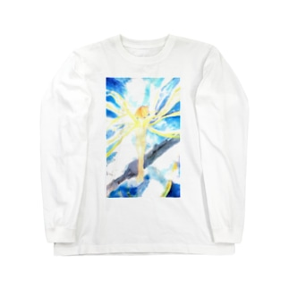 戦場の風使い(ロゴ無し ver.1) Long sleeve T-shirts
