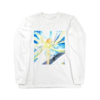 戦場の風使い(ロゴ無し ver.2) Long sleeve T-shirts