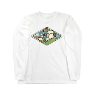 オキナインコラジオ Long sleeve T-shirts