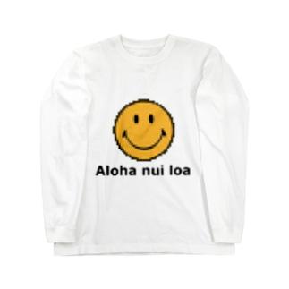 ドットスマイリー Long sleeve T-shirts