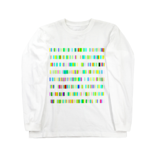 レオナのColor Bars Long sleeve T-shirts