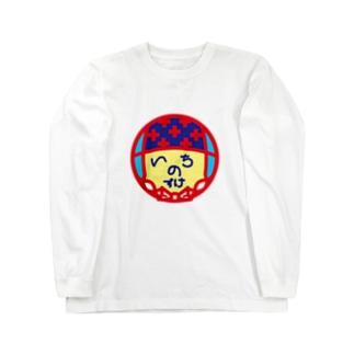 パ紋No.3195 いちのすけ Long sleeve T-shirts