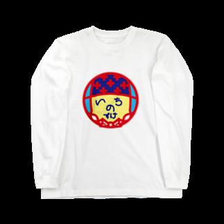 原田専門家のパ紋No.3195 いちのすけ Long sleeve T-shirts