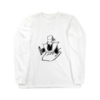 JUNSEN(純仙)江戸 浮世絵 免許皆伝 Long sleeve T-shirts