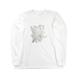 罪悪感少女 Long sleeve T-shirts