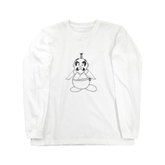 JUNSEN(純仙)宝川 棟健 たからがわ むねたけ 将軍 Long sleeve T-shirts