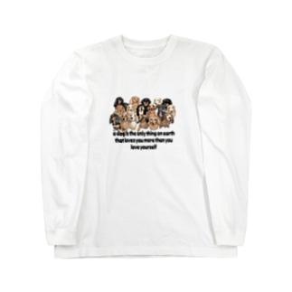 ダックスダックスダックス! Long sleeve T-shirts