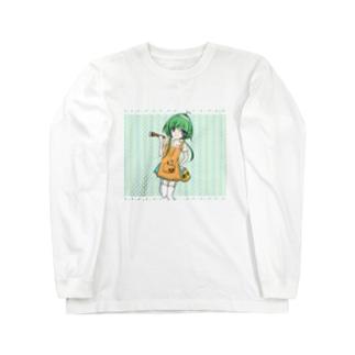 樹脂の妖精 Long sleeve T-shirts