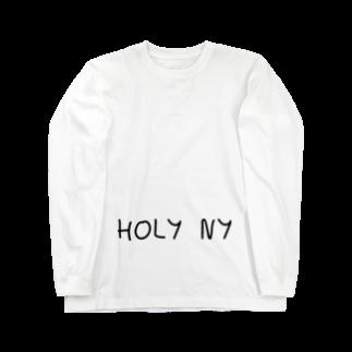 HOLY NY since 2018のニューヨーク (HOLY  NY) Long sleeve T-shirts