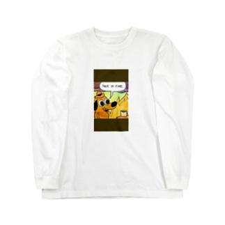ワンチャン Long sleeve T-shirts