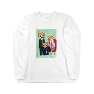 みっちゃの入学祝い Long sleeve T-shirts