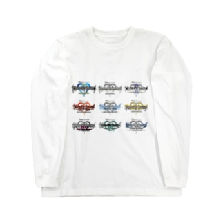 キングダムハーツ Long sleeve T-shirts
