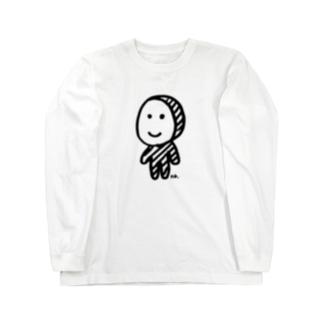 全身タイツくん Long sleeve T-shirts