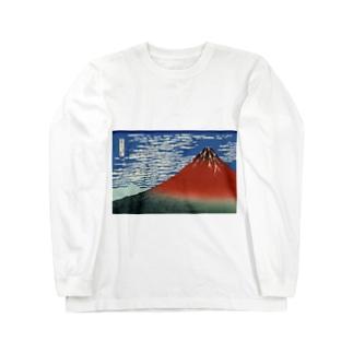 富士 Long sleeve T-shirts