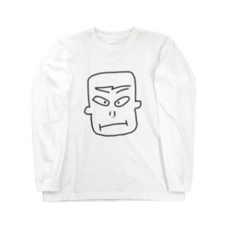 目力くん Long sleeve T-shirts