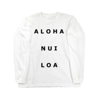 シンプルロゴ Long sleeve T-shirts