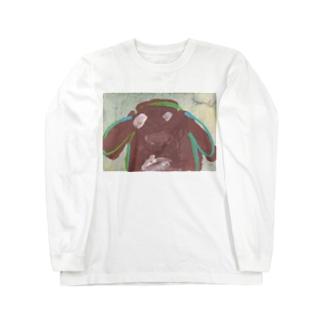 まるこの絵1 Long sleeve T-shirts