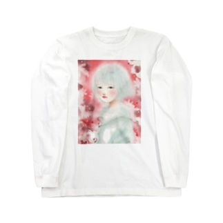 赤い春 Long sleeve T-shirts