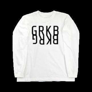 YAOYAのGRKBロングスリーブ Long sleeve T-shirts