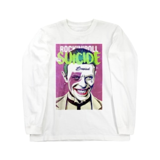 SUICIDE Long sleeve T-shirts