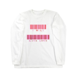 I will give love Long sleeve T-shirts