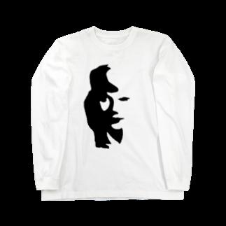 まっちゃんのブタ屋のjazzy  Long sleeve T-shirts