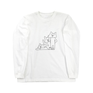 NECO * 3人衆 Long sleeve T-shirts