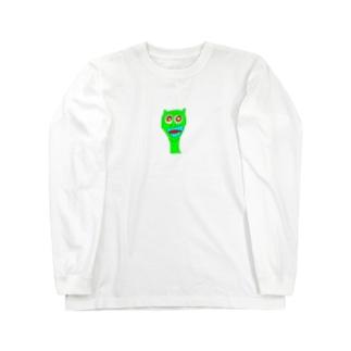 野良猫ギャピー!!! Long sleeve T-shirts