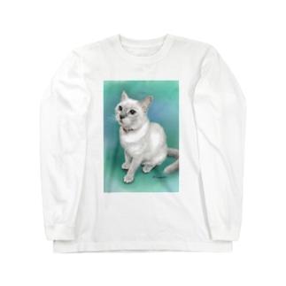 トンキニーズのビーちゃん Long sleeve T-shirts