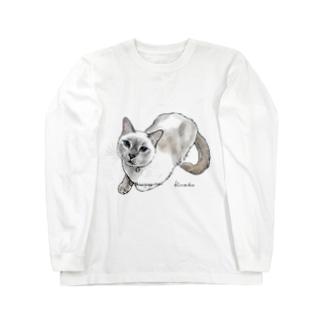 トンキニーズのビーちゃん2 Long sleeve T-shirts