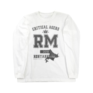 CRITICAL AGERS RM(グレーロゴ) Long sleeve T-shirts
