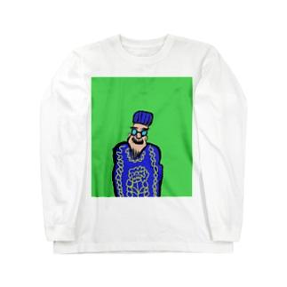 JUNSEN(純仙)ロマーニョ国王 Long sleeve T-shirts