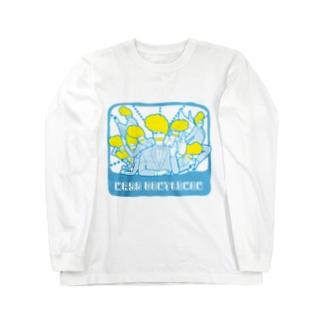マスおじさん Long sleeve T-shirts