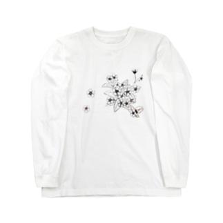 らっとぅヤマルリソウシリーズ Long sleeve T-shirts