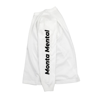 Monta Mental ロングスウェット Long sleeve T-shirts