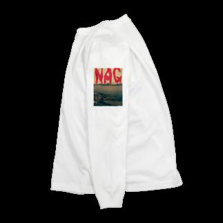NM商会NAGオリジナルTシャツのリバサイ淀川 Long sleeve T-shirts