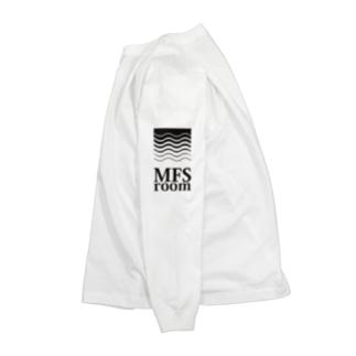 MFS room trim5(黒) Long sleeve T-shirts