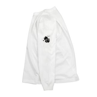 ちらみ猫 Long sleeve T-shirts